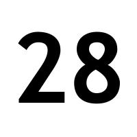 28 >> Week 28 2019